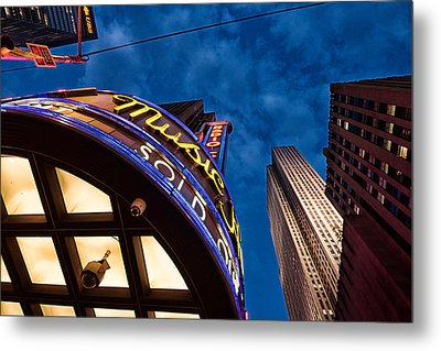 Metal Print featuring the photograph Radio City And 30 Rock by James Howe