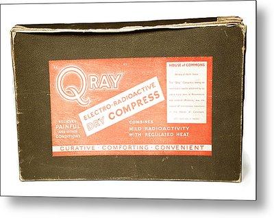 Radium Compress Metal Print