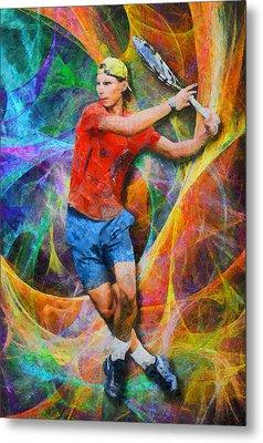 Rafael Nadal 02 Metal Print