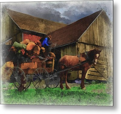 Rag Man Metal Print by William Sargent