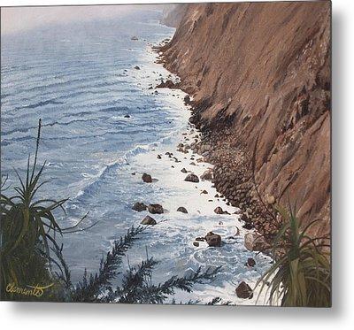 Ragged Point California Metal Print