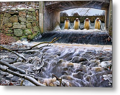 Raging River Metal Print by EXparte SE