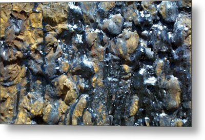 Rail Road Tar Metal Print