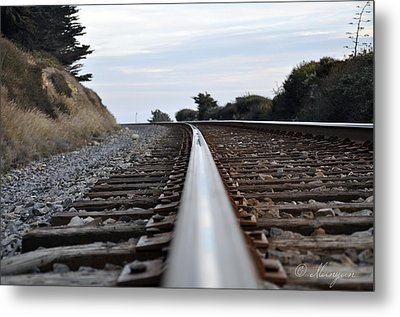 Rail Rode Metal Print