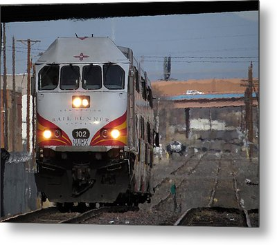 Rail Runner Metal Print by Feva  Fotos