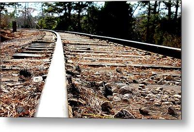 Rail Metal Print by Shawn MacMeekin