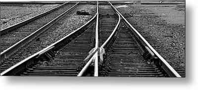 Railroad Highway Metal Print by Jason Drake