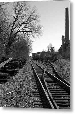 Railroad Siding Metal Print