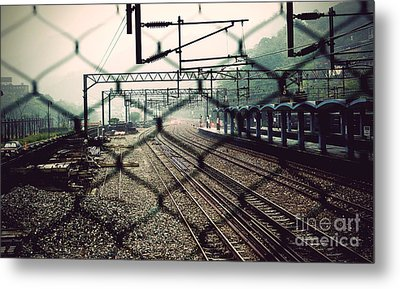 Railway Station Metal Print by Yew Kwang