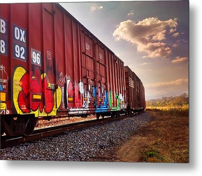 Railways Metal Print