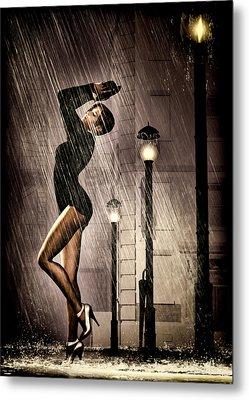 Rain Dance Metal Print by Bob Orsillo