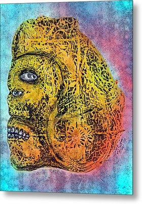 Rain God Metal Print by Dennis Stahl
