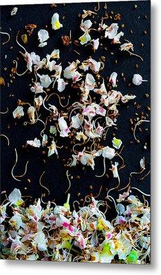 Rain Of Petals Metal Print by Edgar Laureano