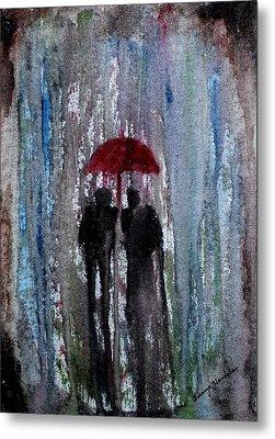 Rain Metal Print by Saranya Haridasan