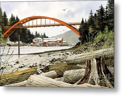 Rainbow Bridge Metal Print by James Williamson