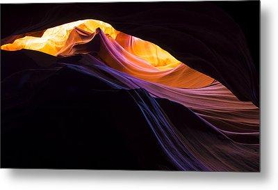 Rainbow Canyon Metal Print by Chad Dutson