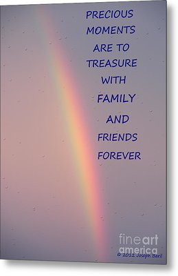 Rainbow Happiness Metal Print by Joseph Baril