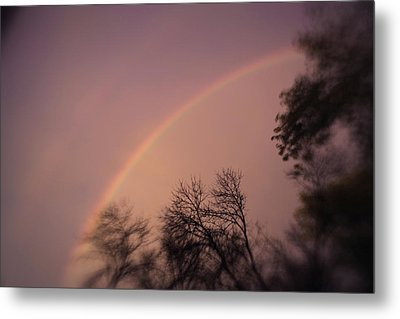 Rainbow Metal Print by Heather Green