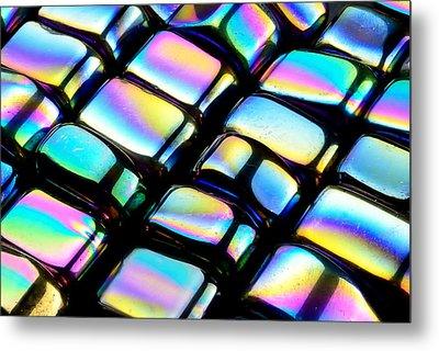 Rainbow Hematite Metal Print by Jim Hughes