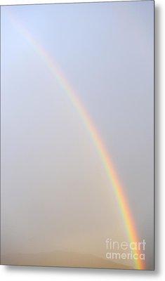 Rainbow In The Sky Metal Print