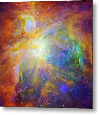 Rainbow Orion Metal Print by Georgia Fowler