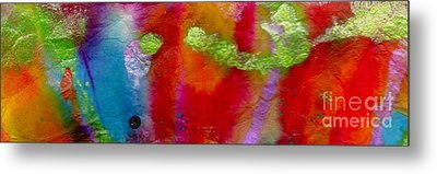 Rainbow Passion Metal Print by Angela L Walker