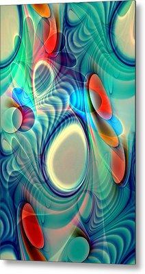 Rainbow Play Metal Print by Anastasiya Malakhova