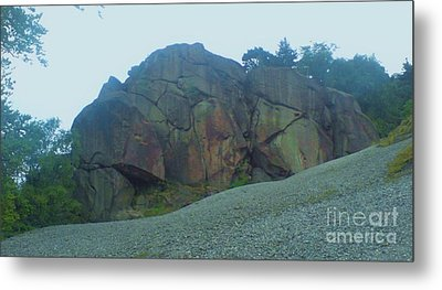Metal Print featuring the photograph Rainbow Rock by John Williams