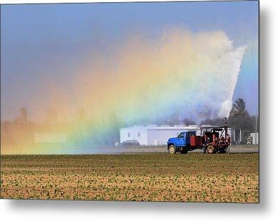 Rainbow Metal Print by Rudy Umans