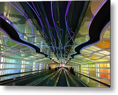 Metal Print featuring the photograph Rainbow Strike by Nathan Rupert