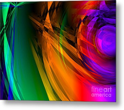 Rainbow Thoughts Metal Print