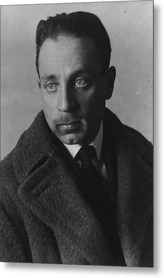 Rainer Maria Rilke Metal Print by German Photographer