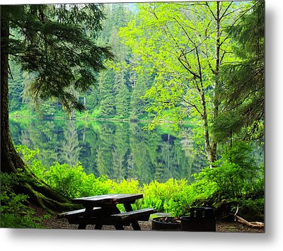 Rainforest Beauty Metal Print