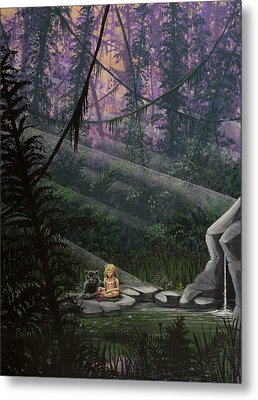 Rainforest Mysteries Metal Print