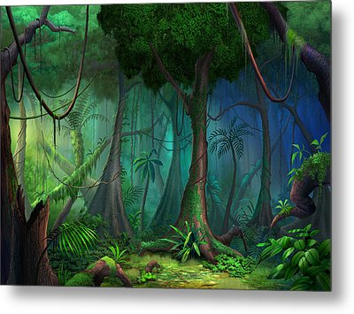 Rainforest Metal Print by Philip Straub
