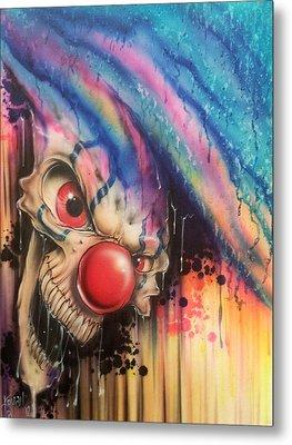 Raining Fear Metal Print by Mike Royal