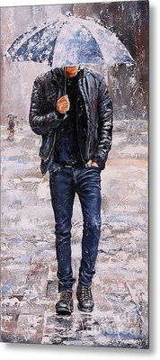Rainy Day #23 Metal Print by Emerico Imre Toth