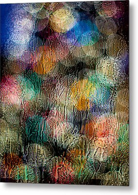 Metal Print featuring the photograph Rainy Day Christmas by Aaron Aldrich