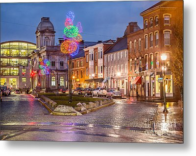 Boothby Square Holidays Metal Print