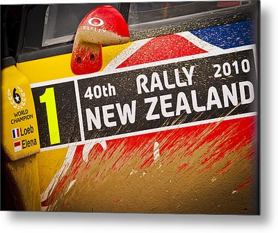 Rally New Zealand Metal Print by motography aka Phil Clark