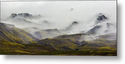 Ramble Thru The Mountains I Metal Print by Jon Glaser