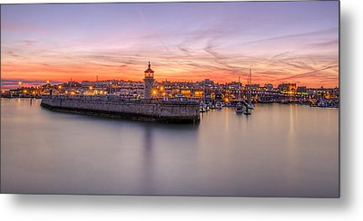 Ramsgate Harbour Summer Sunset  Metal Print