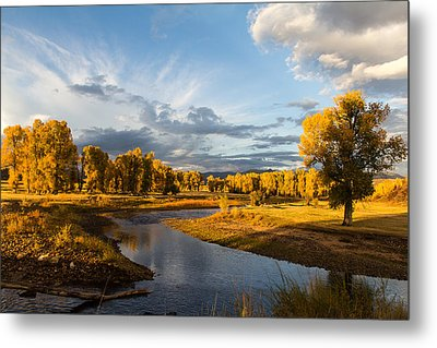 Ranch Sunset Metal Print