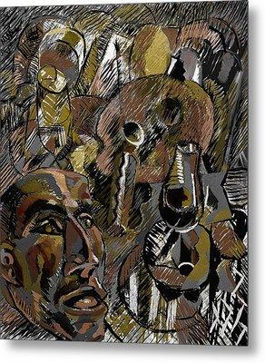 Metal Print featuring the digital art Ranchera by Clyde Semler