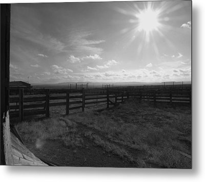 Rancho Colorado Metal Print by Anna Villarreal Garbis