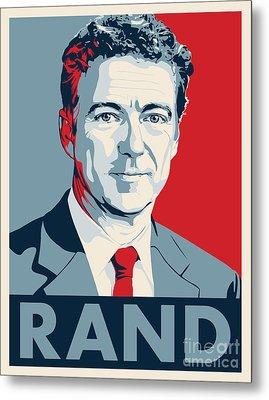 Rand Paul Metal Print