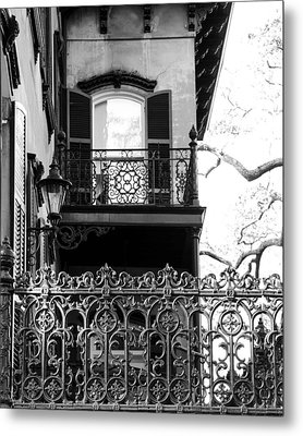 Random Porch.savannah Metal Print by Maria Suhr