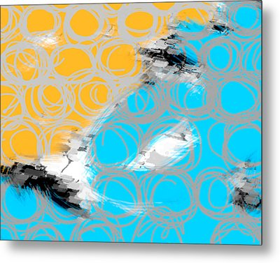 Random Thoughts Metal Print by Ann Powell