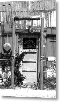 Metal Print featuring the photograph Randsburg Antique Shop by Jim Snyder