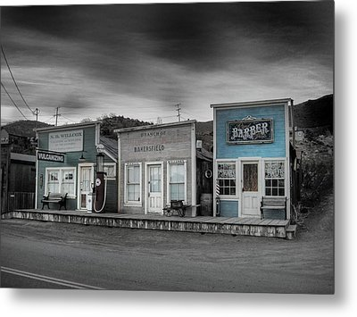 Randsburg Gas Station And Shops Metal Print